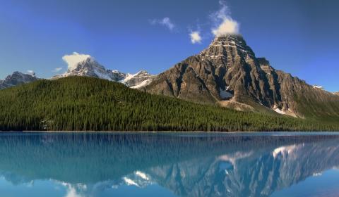 4k hintergrundbilder berge kanada